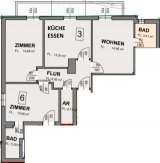 Appartement 35 Plan